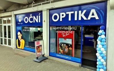 Nová oční optika Doctor Optic Chomutov