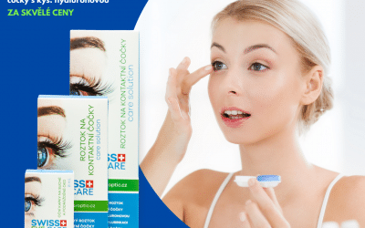 Nově na pobočkách: Víceúčelový roztok na kontaktní čočky s kyselinou hyaluronovou a oční kapky
