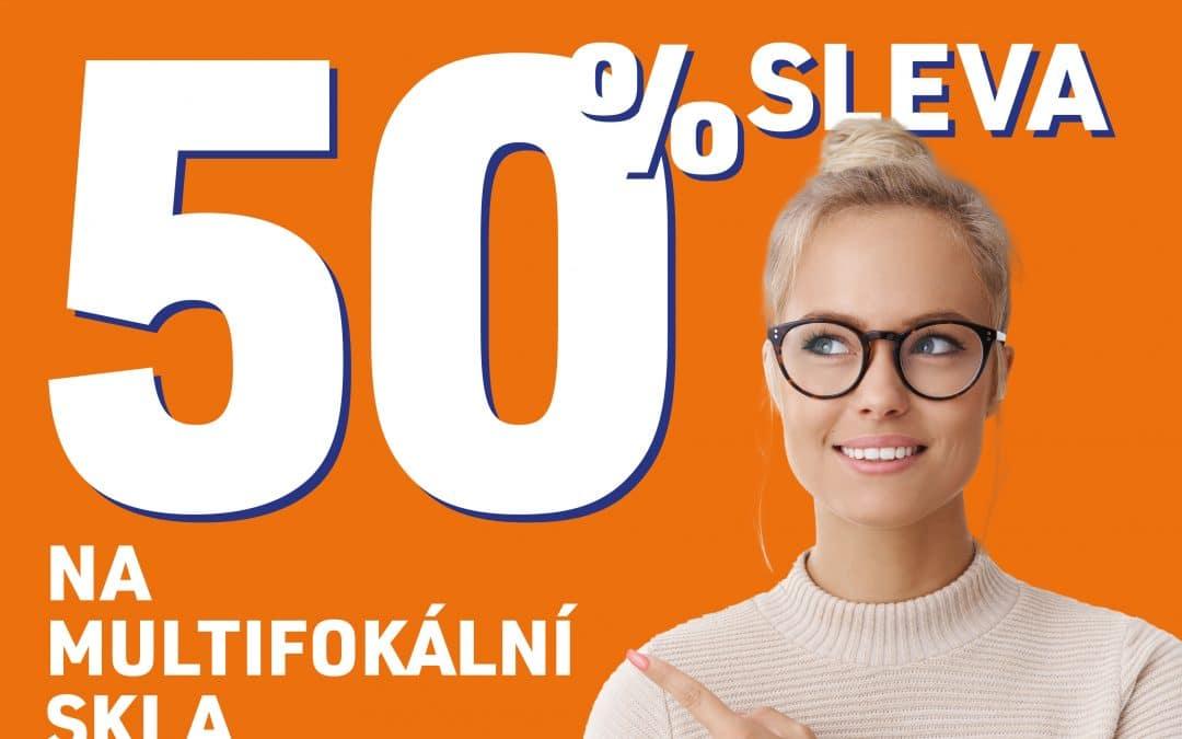 -50 % na multifokální skla v Metropoli Zličín!