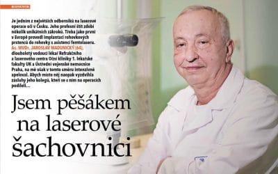 Rozhovor s As. MUDr. Jaroslavem Madunickým v časopisu Téma