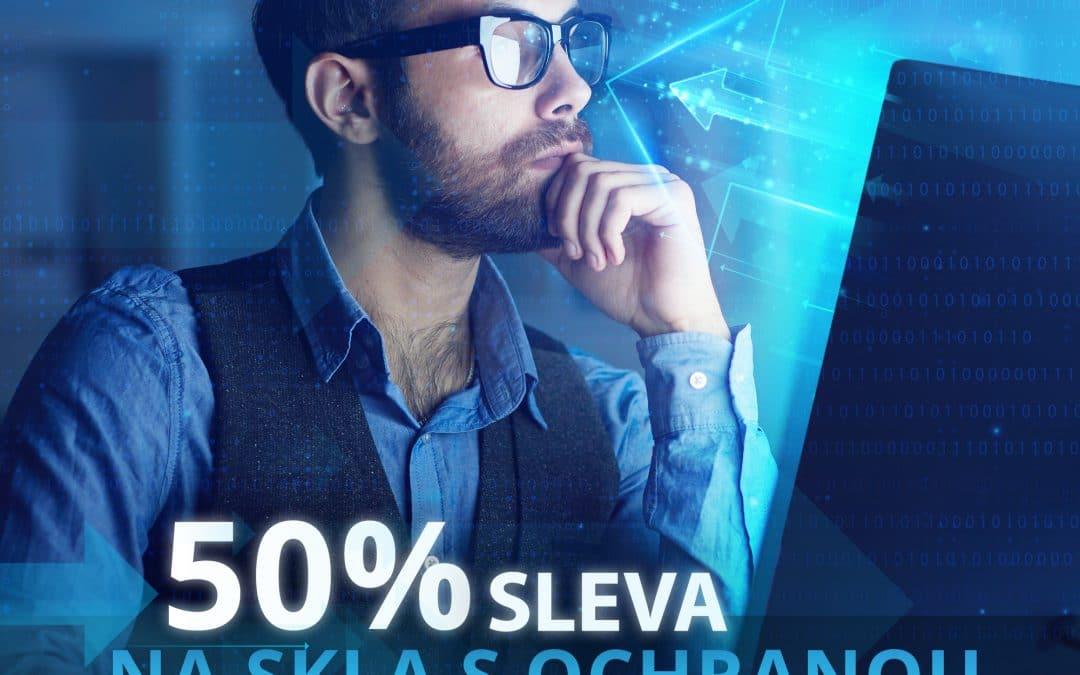 50% sleva na brýle s ochranou proti modrému světlu a UV záření!